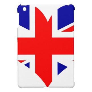 Union Jack Heart Flag iPad Mini Cover