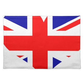 Union Jack Heart Flag Placemat