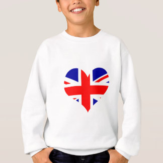 Union Jack Heart Flag Sweatshirt
