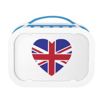 Union Jack Heart Lunchbox