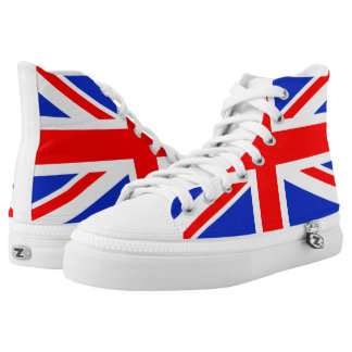"""UNION JACK"" HIGH TOPS"