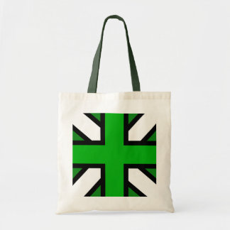 Union Jack Inspired Tote Bag