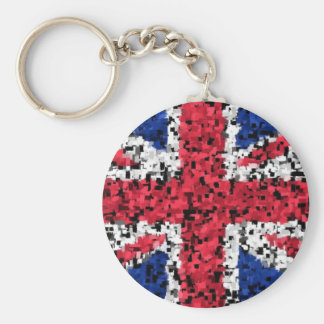 Union Jack - key ring