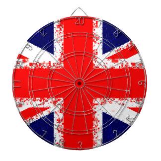 Union jack london flag uk dartboard