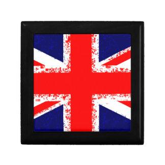 Union jack london flag uk gift box
