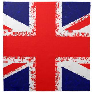 Union jack london flag uk napkin