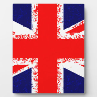 Union jack london flag uk plaque