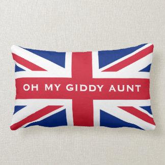 Union Jack Lumbar Pillow
