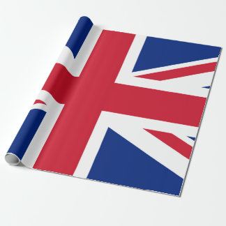 """Union Jack Matte Wrapping Paper, 30"""" x 6' Wrapping Paper"""
