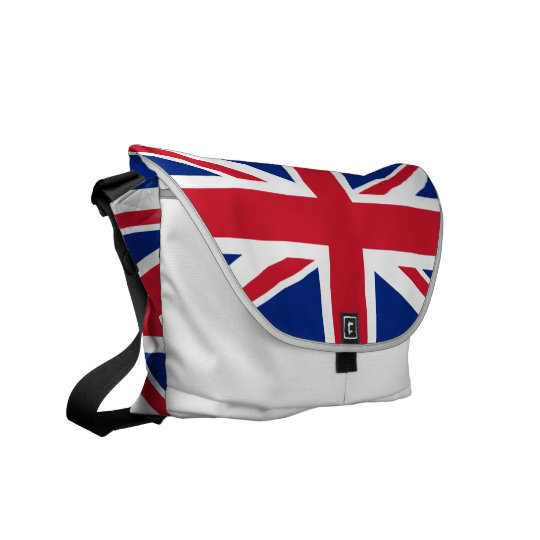 Union Jack Messenger Bag
