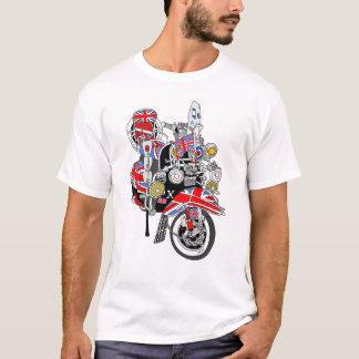 Union Jack Mods Bike T-Shirt