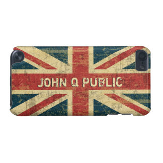 Union Jack Name Template iPod Touch (5th Generation) Cases