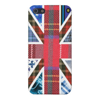Union Jack Patchwork Pattern Case For The iPhone 5