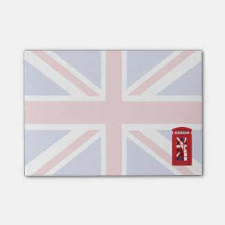 Union Jack, Phone Booth Post-it Notes