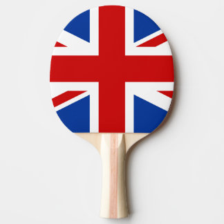 Union Jack Ping Pong Paddle