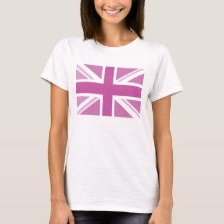 union jack pink T-Shirt