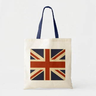 Union Jack Retro Tote Bag