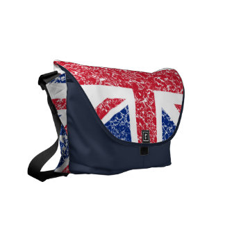 Union Jack Rickshaw Bag Messenger Bags