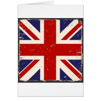 Union Jack Shabby Chic Card