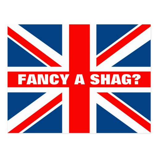 Union Jack shag Post Cards