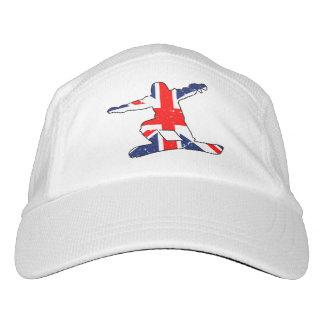 Union Jack SNOWBOARDER (blk) Hat