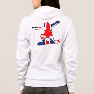Union Jack SNOWBOARDER (blk) Hoodie