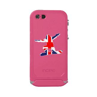 Union Jack SNOWBOARDER (wht) Incipio ATLAS ID™ iPhone 5 Case