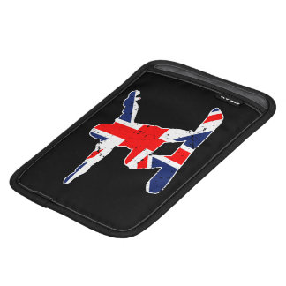 Union Jack SNOWBOARDER (wht) iPad Mini Sleeve