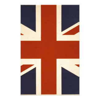 Union Jack Stationery Design