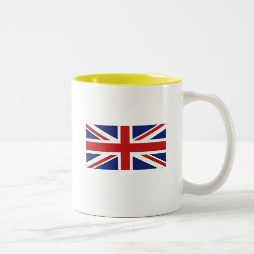 Union Jack Two-Tone Mug