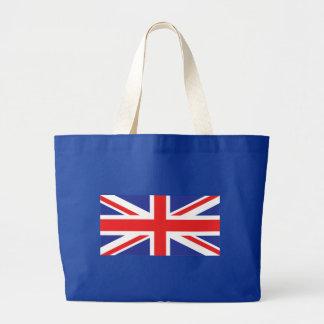 Union Jack UK Flag Large Tote Bag