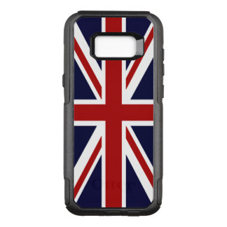 Union Jack UK Flag OtterBox Commuter Samsung Galaxy S8+ Case