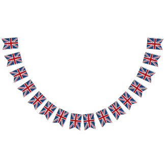 Union Jack UK Patriotic Flag Red White Blue