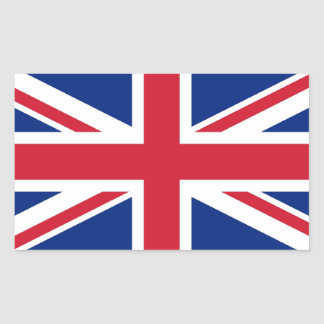 Union Jack: United Kingdom flag Sticker