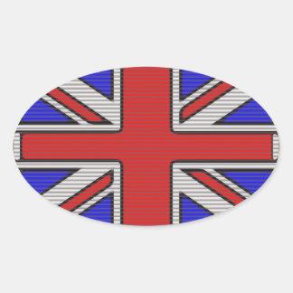Union Jack Vector Art Stickers