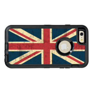 Union Jack Vintage British Flag OtterBox Defender iPhone Case