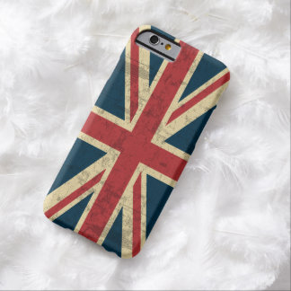 Union Jack Vintage Distressed Barely There iPhone 6 Case
