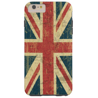 Union Jack Vintage Distressed Tough iPhone 6 Plus Case