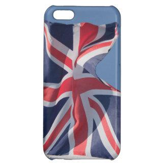 Union Jack waving flag iPhone 5C Case