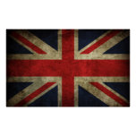 Union Jack - Worn Posters