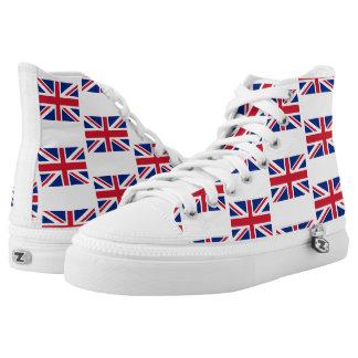 Union Jack Zipz High Top Shoes