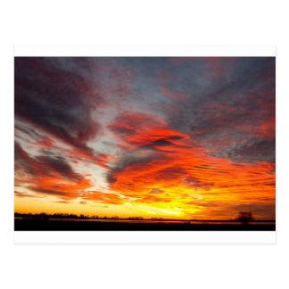 Union Lake Sunrise Feb 14th 2011 - Longmont - Postcard