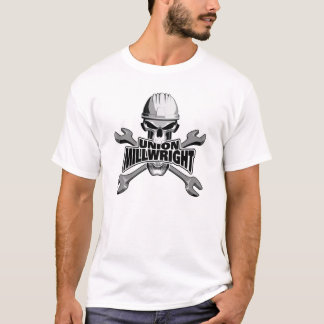 Union Millwright: Skull and Wrenches T-Shirt