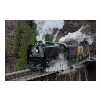 Union Pacific 844 Poster