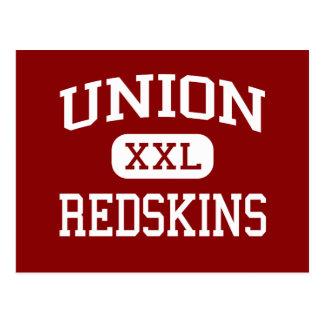Union - Redskins - Middle School - Tulsa Oklahoma Postcard