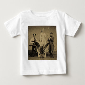Union Soldier, Sailor, and Lady Liberty Civil War T Shirts