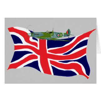 union, spitfire card