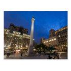 Union Square Downtown San Francisco Postcard