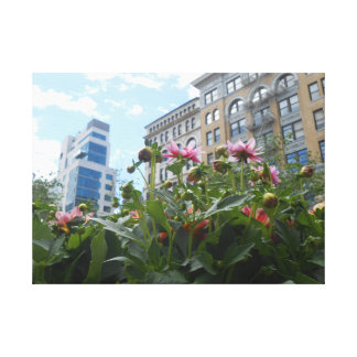 Union Square, New York City, USAn Canvas Print