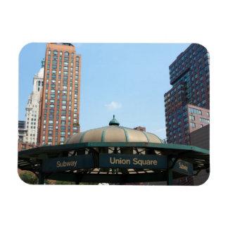 Union Square Subway NYC Rectangular Photo Magnet